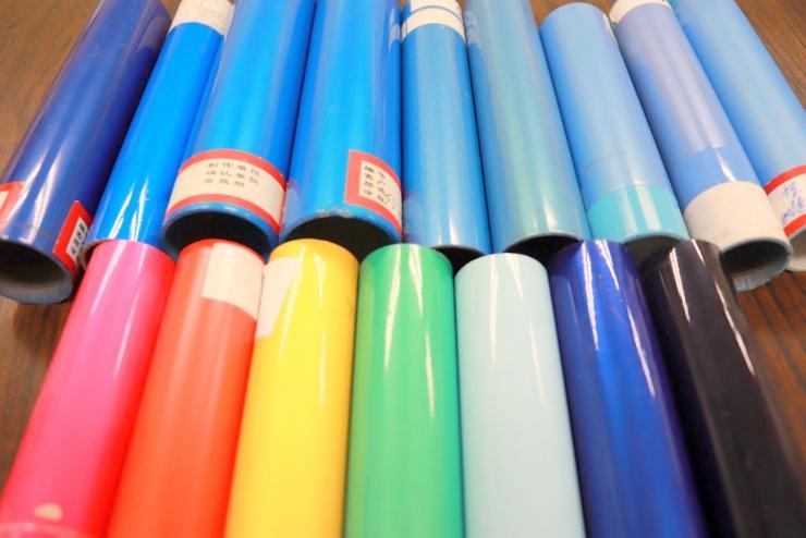 カラーパイプのサンプル2