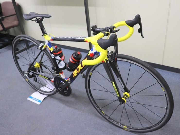 団長の自転車2